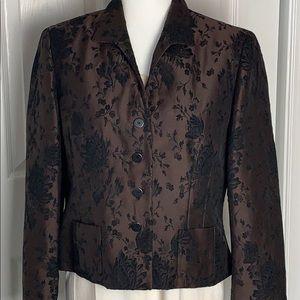 Jones New York jacquard jacket